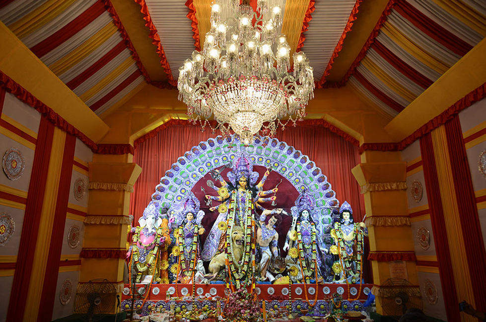 Durga Puja is a time of great joy celebrated in the months of September-October every year