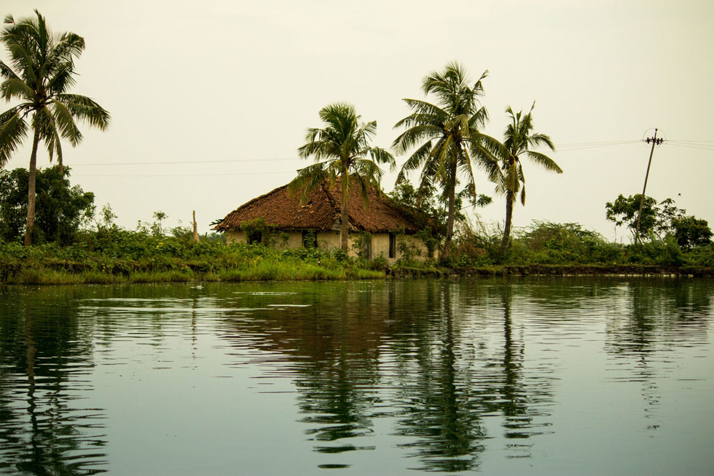Every lake used for aquaculture has a care taker guarding the lake. They are usually given a small house right next to the lake to consistently keep a check on the fish and their food.