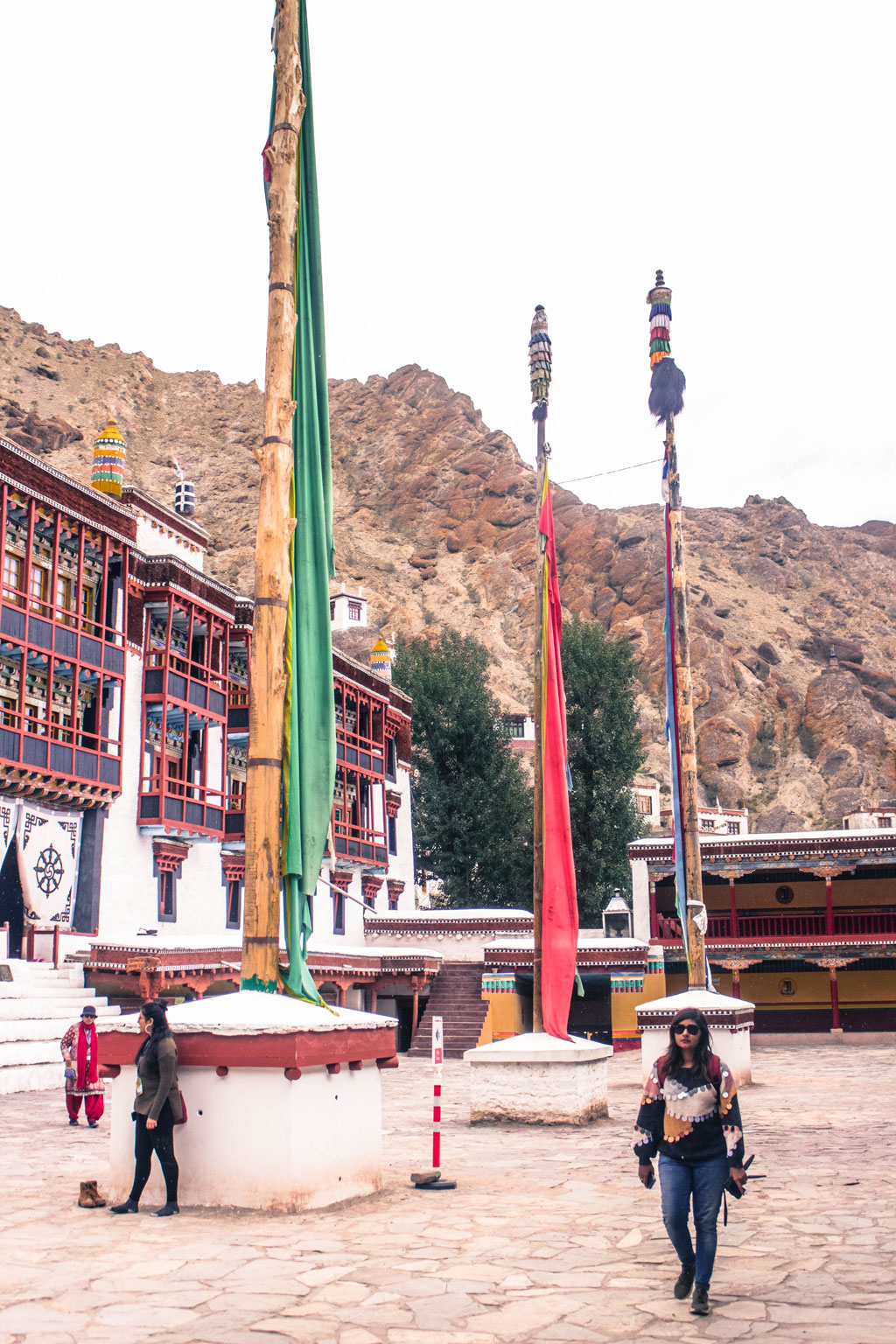 The entrance complex of the Hemis Monastery from where one can venture inside to see the different components that make up this historical Buddhist home