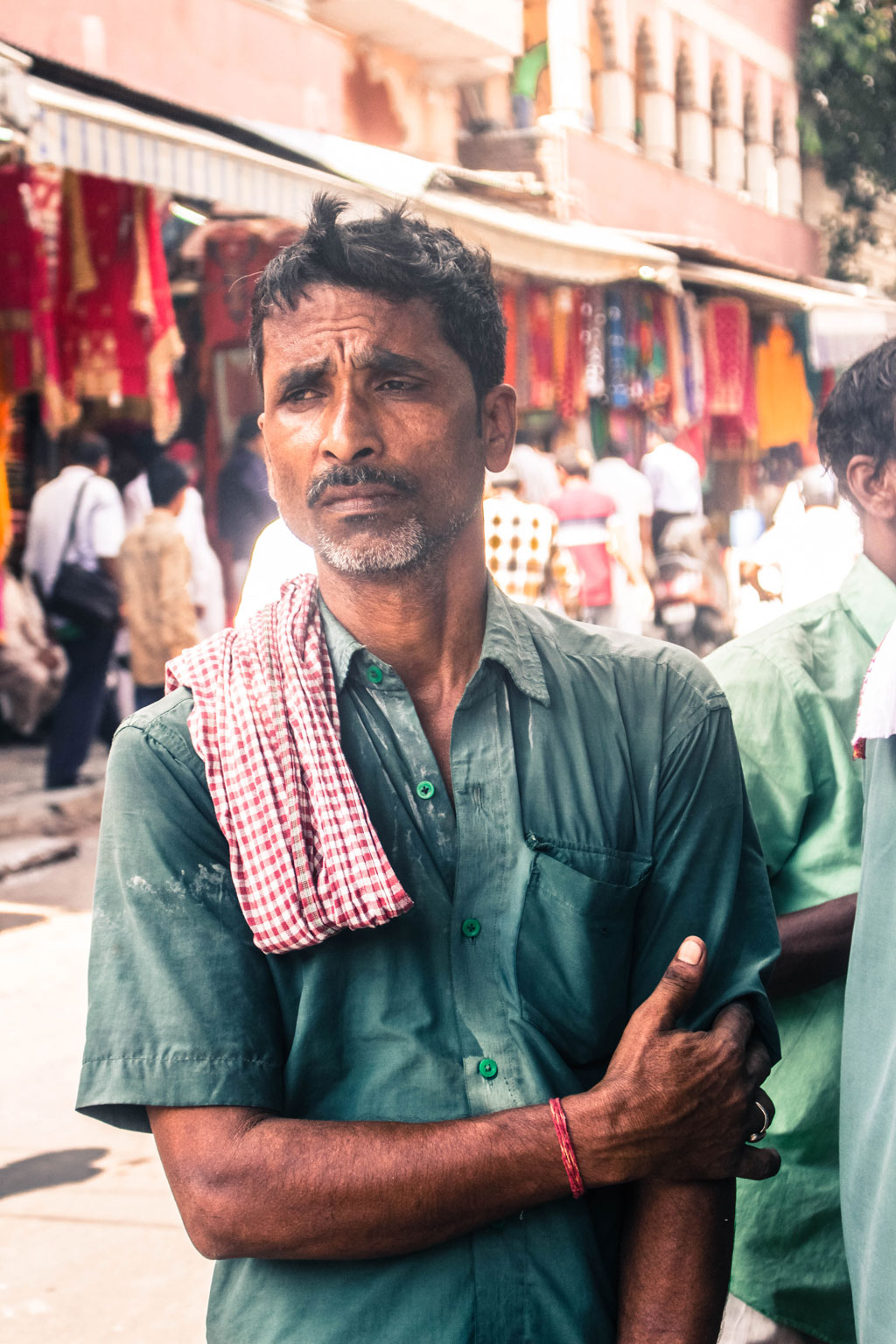 A local hand rickshaw driver took us through the busy streets of Chandni Chowk recommending places that we shouldn't miss out upon.