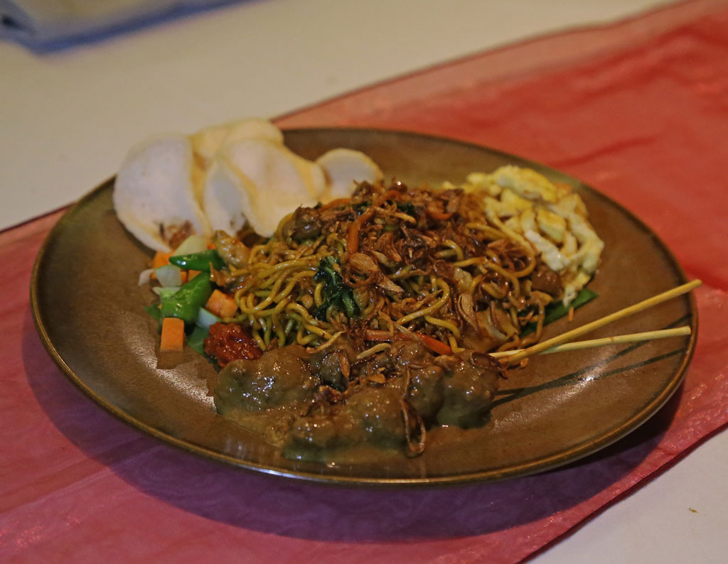Mie Goreng Java, another Indonesian speciality