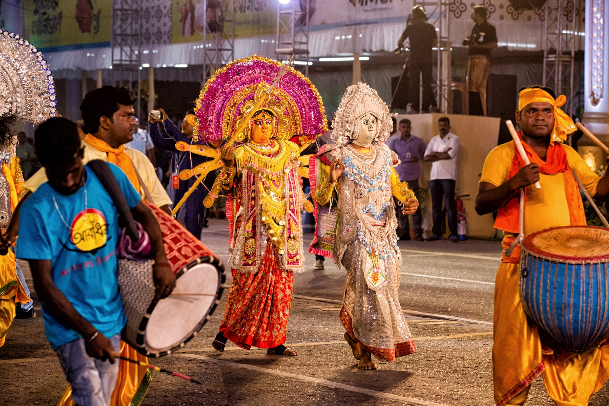 It's truly a joyous time for people to come together and celebrate during Pujo