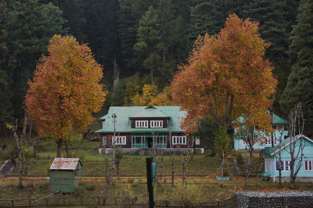 An old cottage in Pahalgam